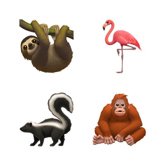 Emojis de animales