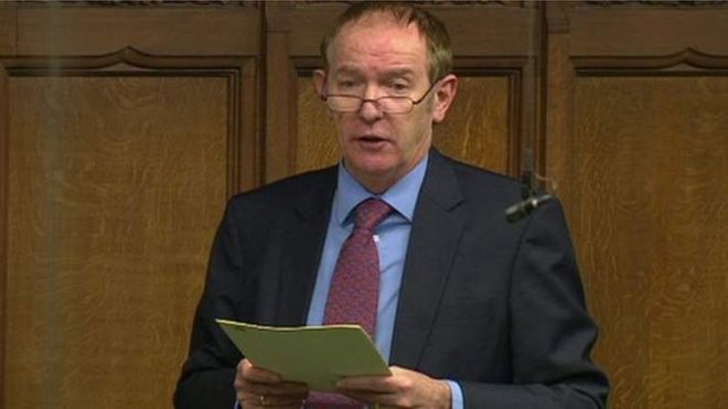 Labour MP Sir Kevin Barron bre...