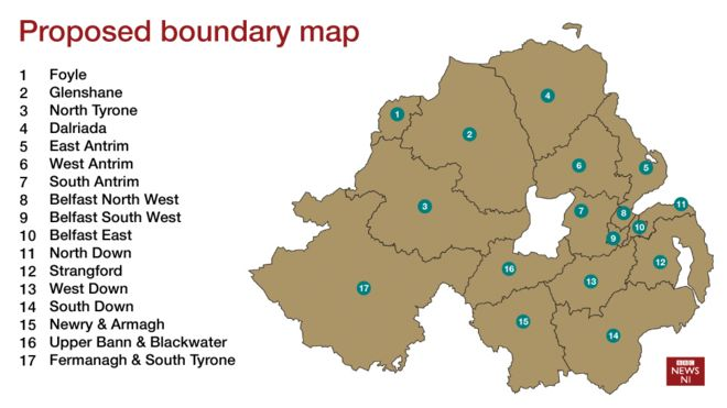 Boundary Commission: Belfast could lose a consuency - BBC News on