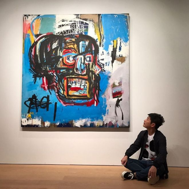 Basquiat painting was bought for just $19000 in 1984