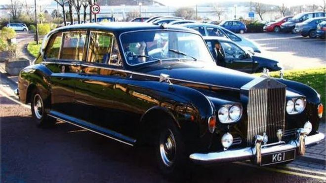 Cardiff Council Rolls Royce Could Go On Show In England Bbc News