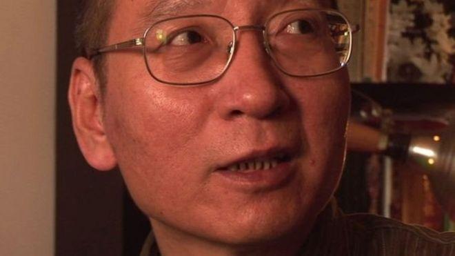 著名異議人士劉曉波