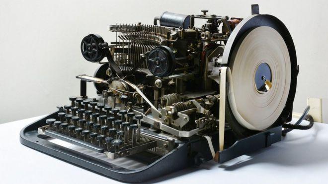 secret german ww2 code machine found on ebay bbc news