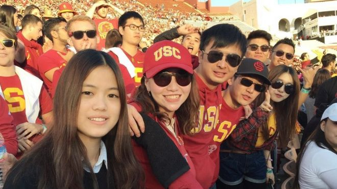 Tracy Wen Liu back at university at USC