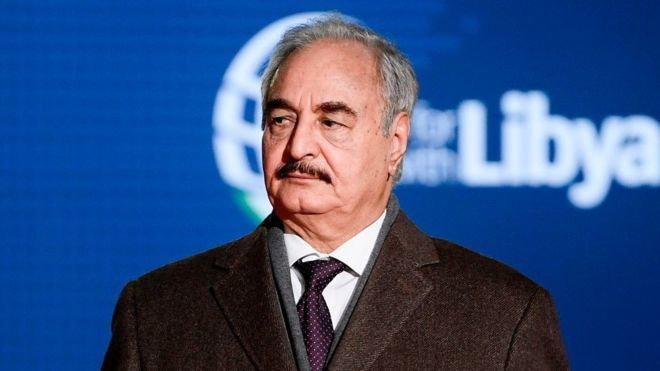 Khalifa Haftar: The Libyan general with big ambitions - BBC News