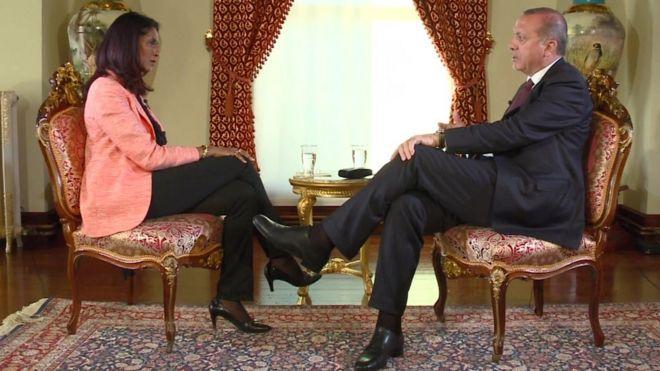 Cumhurbaşkanı Erdoğan BBC'ye konuştu…