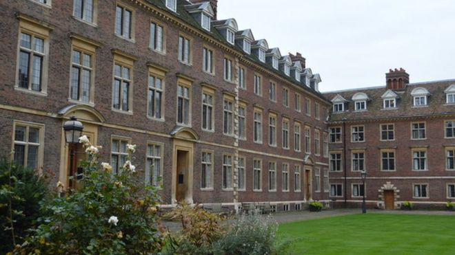 Cambridge University college bell removed over slavery link
