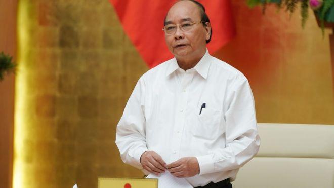 """Thủ tướng Việt Nam nói """"bình tĩnh không hoang mang""""."""