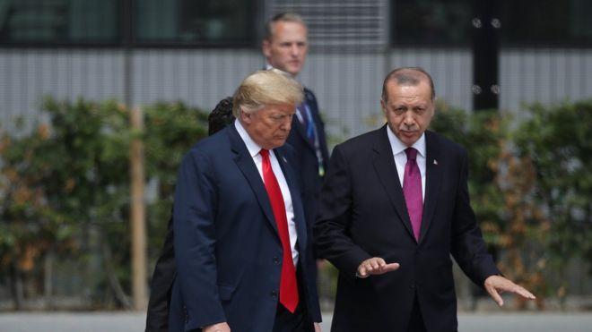 مقتل خاشقجي: ترامب وأردوغان