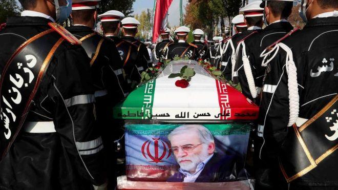 جنازة محسن فخري زاده