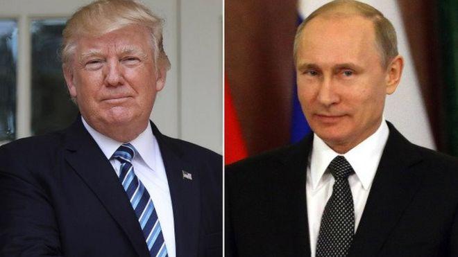 Haya ni maongezi ya kwanza tokea Trump Kushambulia vikosi vya serikali ya Syria vinavyoungwa mkono na Putin