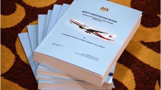 Малайзия представила доклад о пропаже MH370