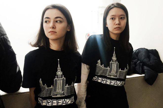 Фариза Дударова и Марина Ким