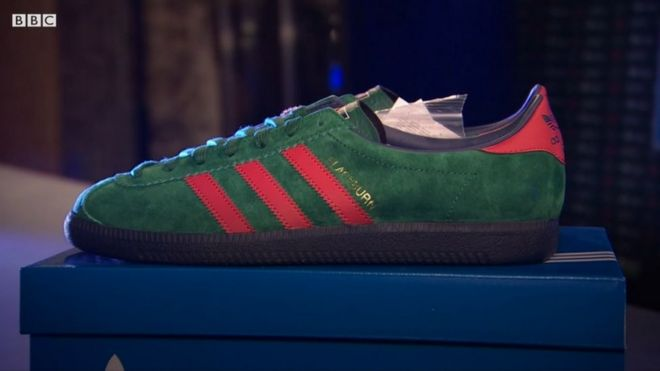 Bids for limited edition adidas Blackburn Spezial Nightsafe