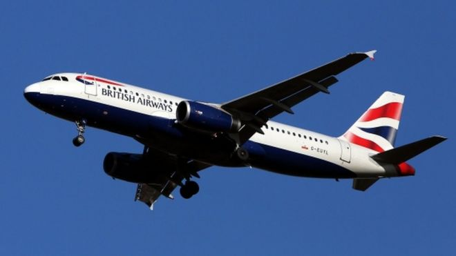 drone hits ba plane police investigate heathrow incident bbc news