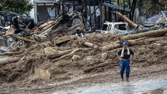 Çin'de sel ve toprak kayması: 25 ölü