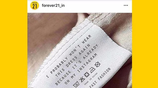 07eb72babc8 Forever21 India used designer Elizabeth Illing s work without permission on  their Instagram page