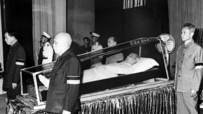 Đám tang Hồ Chí Minh năm 1969