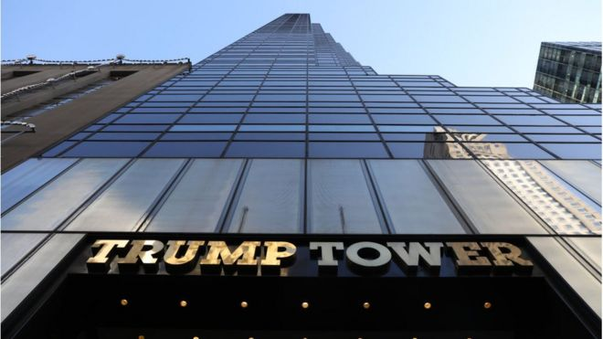 Image result for PHOTOS OF TRUMP TOWERS