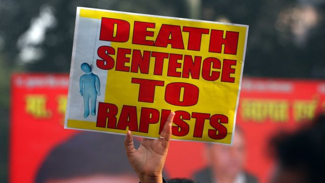 India death penalty: Does it actually deter rape? - BBC News