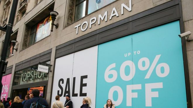 ddb9fc7ac Topshop tycoon Sir Philip Green to close 23 stores - BBC News