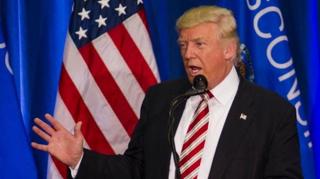 Donald Trump in Wisconsin, 16 Aug