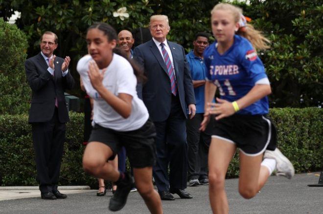 حدث رياضي في البيت الأبيض