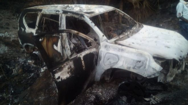 Resultado de imagen para asesinato de candidatos en colombia karin garcia