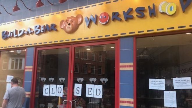 cuddly toy chaos at belfast build a bear workshop bbc news