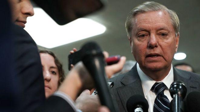 Cumhuriyetçi Senatör Lindsey Graham