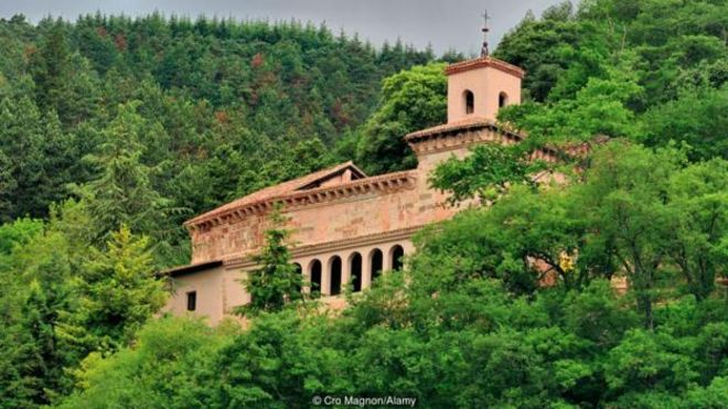 Tu viện Suso ở La Rioja, Tây Ban Nha, được cho là nơi sinh ra chữ viết Tây Ban Nha.