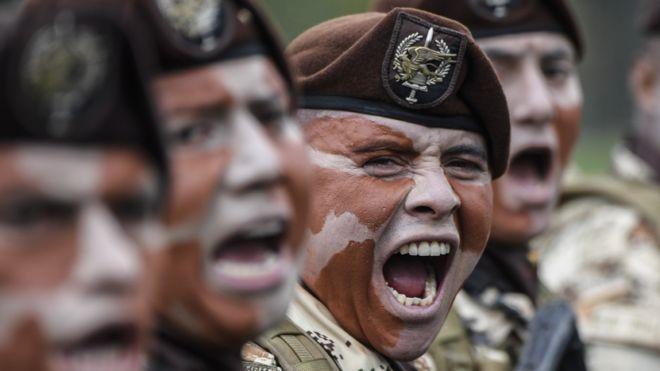 Desfile independencia Colombia