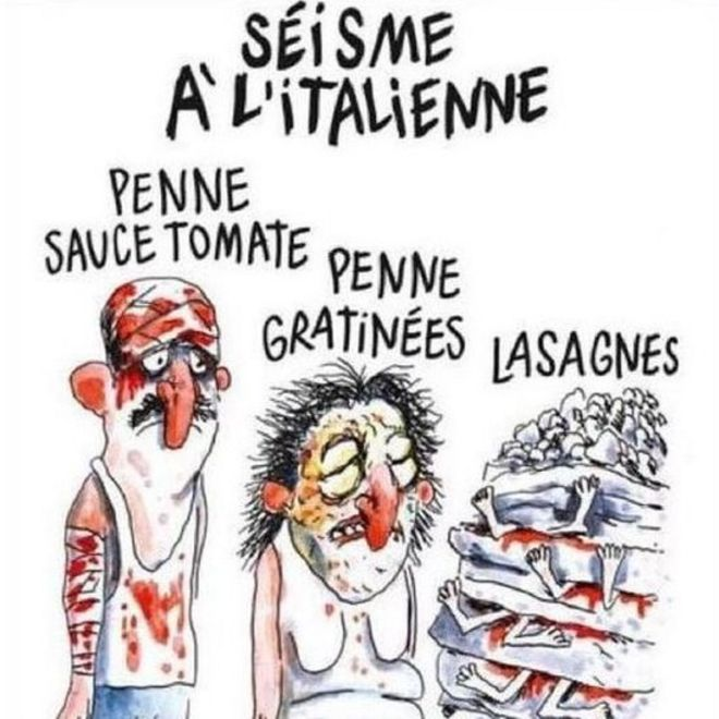 picture of the Charlie Hebdo cartoon