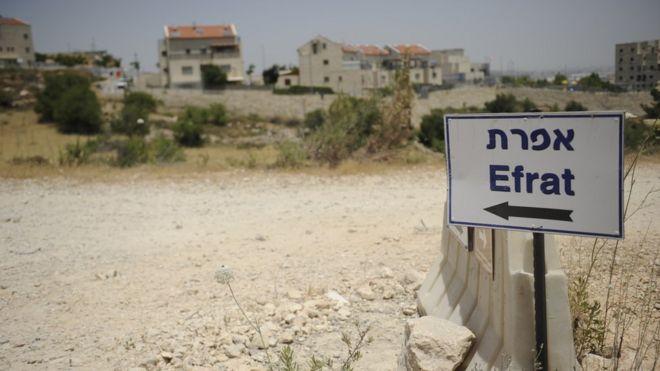Kawasan permukiman Efrat