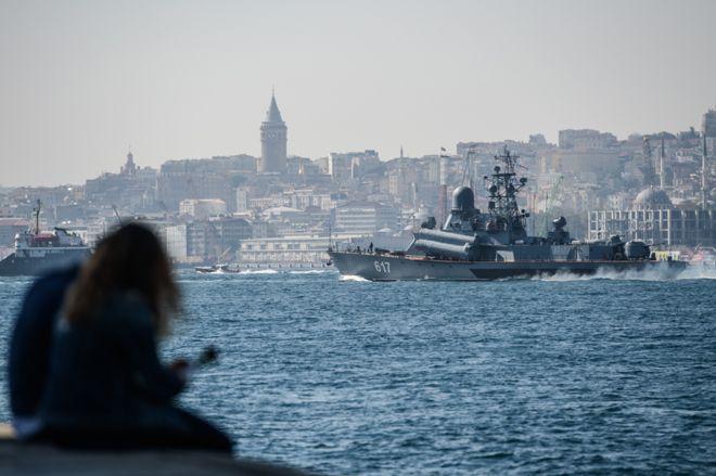 Rusya'nın savaş gemilerini saklayamadığı kent: İstanbul