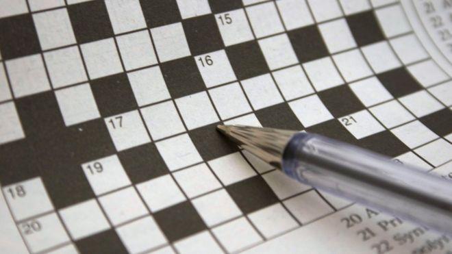 Crossword Artwork Filled In By German Woman Museum