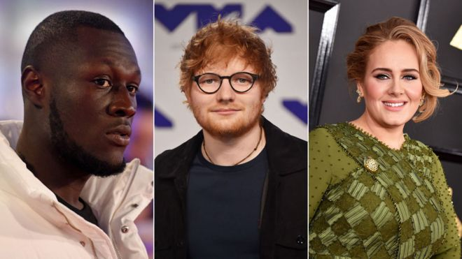 Ed Sheeran tops Adele as Stormzy joins Sunday Times Rich List - BBC News