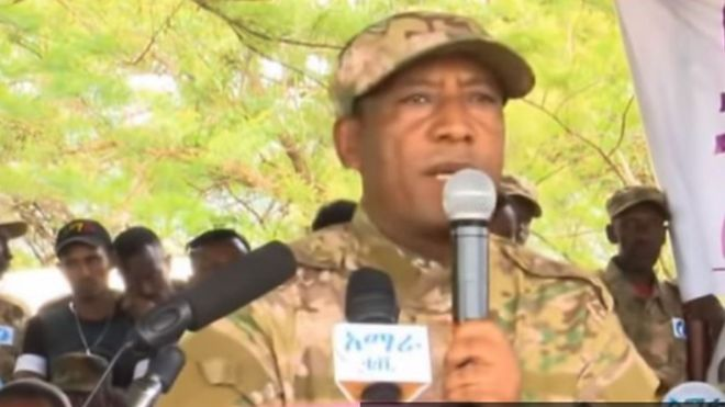 Image result for Brig Gen Asaminew Tsige