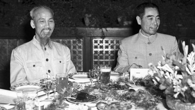Hồ Chí Minh và Chu Ân Lai