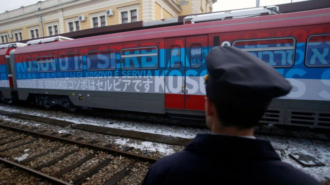 Passen forst i samtal kosovo serbein
