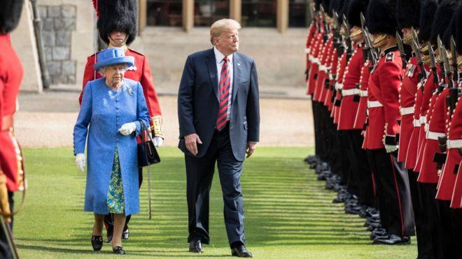 هل تلقي زيارة ترامب السابقة لبريطانيا بظلالها على الزيارة الحالية؟