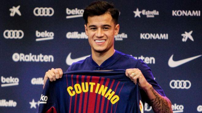 competitive price 15f6e 26916 Coutinho ya cika shekara daya a Barcelona - BBC News Hausa