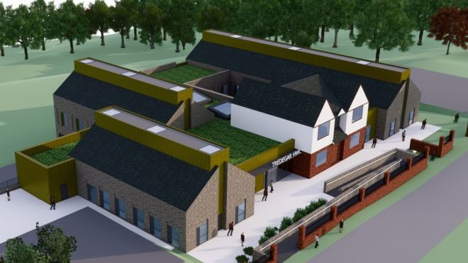 Proposed Tredegar Health and Wellbeing Centre