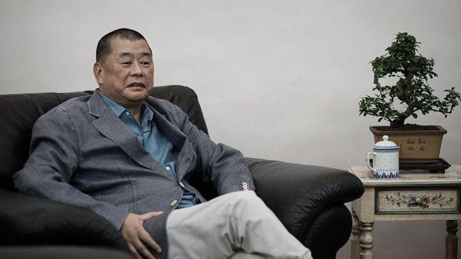 香港壹傳媒創辦人黎智英