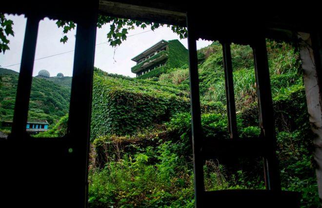 Aldeia abandonada de Houtouwan