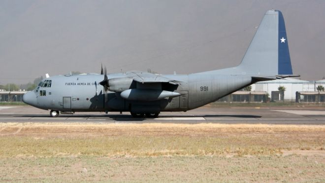 Chilean plane en route to Antarctica disappears with 38 on board