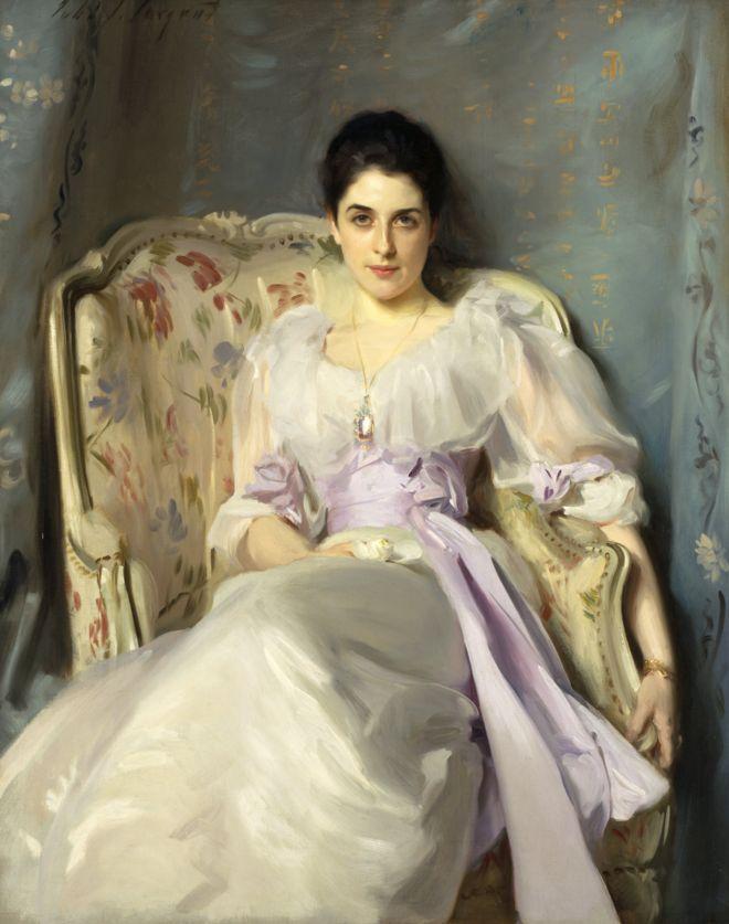 """لوحة """"السيدة أنغرو"""" لجون سينغر سارجنت من بين اللوحات التي تم شراؤها بهبة سميث"""