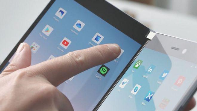 Los nuevos dispositivos plegables se lanzarán en 2020.