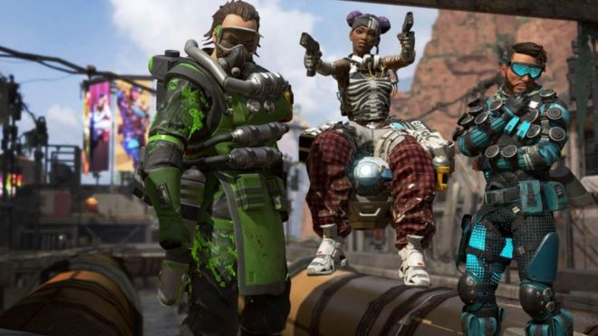 Apex Legends studio bans 355,000 cheating players - BBC News