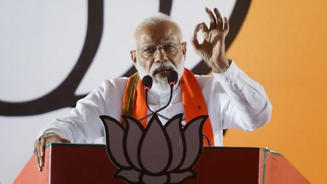 Mr Modi said the Congress should be ashamed of the 1984 anti-Sikh riots